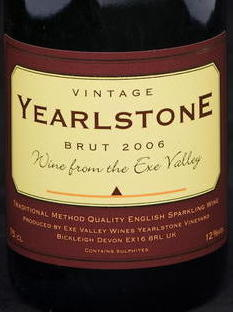 Yearlstone Fizz 2008 Label